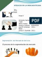 Exposicion Markenting de Servicios