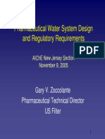 041109-Zoccolante Pharmaceutical Water System Design