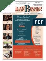The Michigan Banner April 1, 2015 Edition