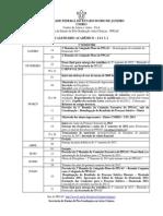 Calendario Academico Do Ppgac - 2013.1