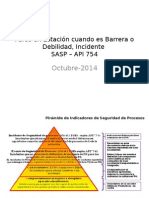 Presentacion de Incidentes API RP 754