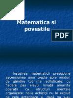 Matematica Si Povestile