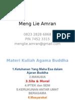 Materi Agama Buddha 2014-2