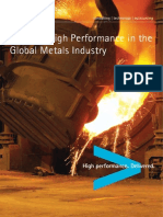 Accenture Building High Performance Global Metals Industry