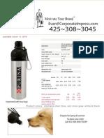Dog Water BottleCPE
