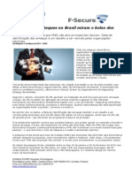 CONSULTCORP F-SECURE 59% Dos Ciberataques No Brasil Miram o Bolso Dos Empresários