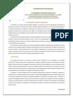 RIEAC- V CONGRESO INTERNACIONAL- Informaciu00F3n Preliminar y Normas de Participaciu00F3n- DeFINITIVAS- Para Publicidad