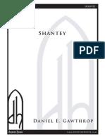 Shantey - Gawthrop