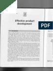 Effective Product Development