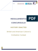 Regulament History Enacted