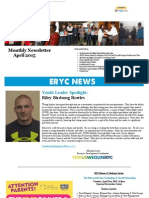 April News From Eagle River Youth Coalition