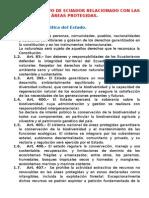 Marco Normativo de Ecuador Relacionado Con Las Áreas Protegidas