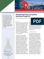 Reinvigorating Turkey's Transatlantic Enthusiasm Through TTIP