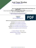 Clinical Case Studies-fobie Sociala Si Depresie