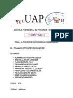 Escuela Profesional de Farmacia y Bioquimica Fisiopatologia