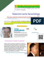 Dlaczego zydostwo dyskryminuje kandydata ludowcow PDO82 von Stefan Kosiewski ZECh CDLIV