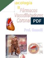 Farmacologia II - Vasodilatadores Coronarianos[1]