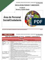 IV Ciclo Personal Social_ciudadania- Dre Cusco