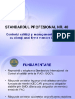 4.Standardul Profesional Nr.40