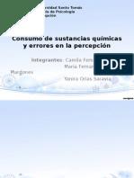 Consumo de Sustancias Químicas y Errores en La