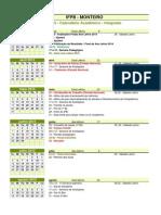 Calendario Academico 2015 2016 Integrado