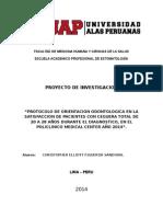 ORIENTACION ODONTOLOGICA EN LA SATISFACCION DE PACIENTES CON CEGUERA TOTAL