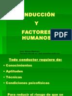 Conducción y Factores Humanos
