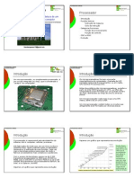 Unidade VI - Hardware - Arquitetura de Um Sistema de Computação - Processador