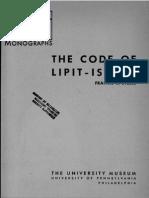 ლიპიტ-იშტარის კოდექსი