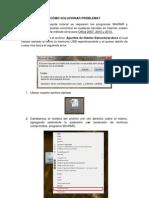 Archivo Word Dañado