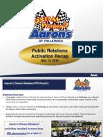 Aaron's- Science of Speed Recap