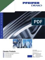 PFEIFER DRAKO Elevator Products 09 2013
