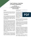 Evolving Evolutionary Algorithms for Function Optimization