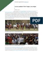Mientras Venezuela se cae a pedazos Víctor Var gas y sus amigos prepago juegan polo