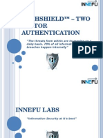 Authshield Lab-2 Factor Authentication Solutions