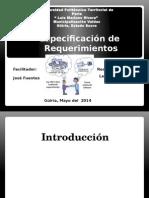 Especificacion de REquerimiento de Software