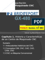 Curso de Capacitación Centro de Maquinado Bridgeport FANUC