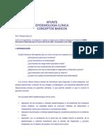 Epidemiologia Clinica Conceptos Basicos