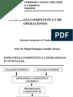 Estrategia Competitiva y Operaciones