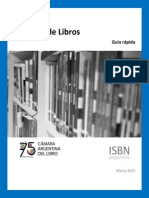 Guía de Registro ISBN