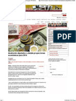 31-03-15 Analizarán diputados a detalle proyecciones económicas para 2016