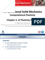 Chapter 3. J2 Plasticity Models v1.0