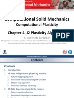 Chapter 4. J2 Plasticity Algorithms v1.0