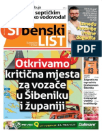 Sibenski list, 02. travnja 2015.