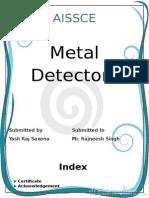 Metal Detectors project