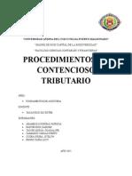 Procedimientos No Contencioso Tributario