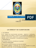 LA CIENCIA Y SU CLASIFICACION.pptx