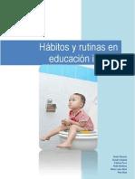 Hábitos y Rutinas en Educación Infantil by Piliwini [Tema 7 HabitosRutinas.pdf] (12 Pages)