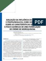 Artigo Hidroq. Prop. e Etanol