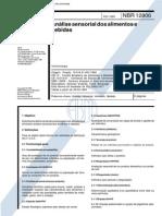 NBR 12806 - Analise Sensorial Dos Alimentos E Bebidas